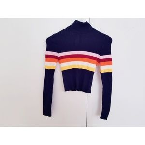 Urban Outfitters mock neck crop sweater